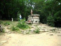 Antyczna kamienna dolmen struktura Fotografia Stock