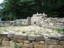 Antyczna kamienna dolmen struktura Zdjęcia Royalty Free
