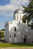 Antyczna katedra Boris i Hlib w Chernihiv Ukraina obraz stock