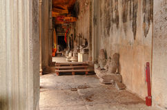 Antyczna Khmer architektura Obrazy Royalty Free