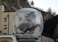 Antyczna Końska rzeźba obrazy stock