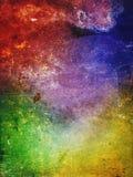 antyczna kolorowa ściana Zdjęcia Royalty Free