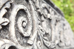 Antyczna kolumna w archeologicznym muzeum w olimpia Grecja Obraz Stock