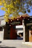 Antyczna kultury ulica w Tianjin, Chiny Obraz Royalty Free