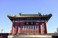 Antyczna kultury ulica w Tianjin, Chiny Obrazy Stock