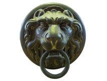 Antyczna lew głowy rękojeść Zdjęcie Stock