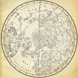 antyczna mapa Zdjęcie Royalty Free