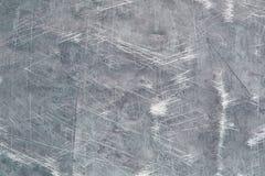 Antyczna metal ściana, żelazna tekstura z scuffs i narysy, fotografia stock