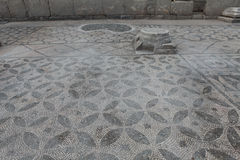 Antyczna mozaika Kibyra w Golhisar, Burdur Fotografia Royalty Free