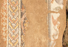 Antyczna mozaika w Dion, Grecja Obrazy Stock