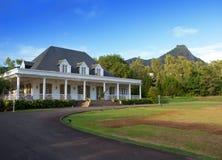 Antyczna nieruchomość na Mauritius. fotografia royalty free