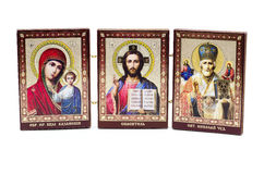 Antyczna Ortodoksalna ikona Zdjęcia Royalty Free