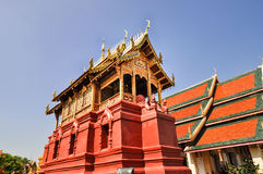 Antyczna północna Tajlandia świątynia Zdjęcia Stock