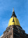Antyczna pagoda buddyzm w Ayutthaya, Thailand Obrazy Royalty Free