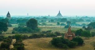 Antyczna pagoda przy Bagan, Myanmar Obraz Royalty Free