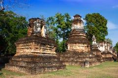 Antyczna pagoda przy Sukhothai, Tajlandia Fotografia Stock
