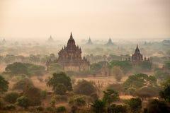 Antyczna pagoda w Bagan fotografia stock