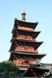 antyczna pagodowa świątynia Obrazy Stock