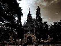 Antyczna pagodowa świątynia Zdjęcie Royalty Free