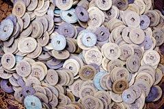 antyczna porcelanowa chińska waluta Obrazy Stock