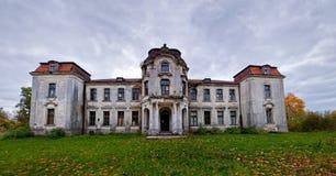 Antyczna rezydencja ziemska w Białoruś Obrazy Stock