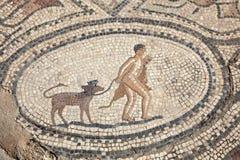 Antyczna Romańska mozaika Fotografia Stock