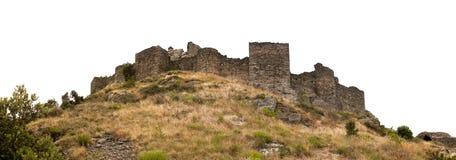 Antyczna ruina kasztel Zdjęcia Royalty Free