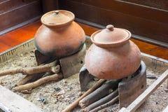Antyczna Ryżowa kuchenka Zdjęcie Stock