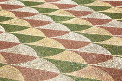 Antyczna rzymska mozaiki tekstura Zdjęcie Royalty Free