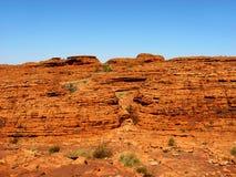 Odludzie skały ściana Obraz Stock