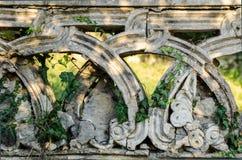 Antyczna stara balustrada Obraz Stock