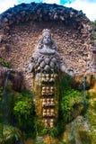Antyczna statua przy d'Estre willą w Tivoli, Włochy Zdjęcia Royalty Free