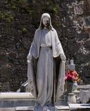 Antyczna statua Religijna kobieta obraz royalty free