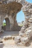 Antyczna strona wallah landmark indyk Ruiny antyczny miasto zdjęcia stock