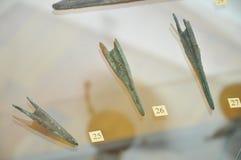 Antyczna strzała archeologia Zdjęcie Royalty Free