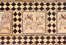 Antyczna sztuka w muzeum Anatolian cywilizacje - Ankar zdjęcia stock
