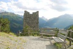 Antyczna wieża obserwacyjna Obraz Royalty Free