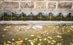 Antyczna wodna fontanna Fotografia Stock