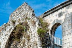 Antyczne ściany Diocletian pałac, Chorwacja Obrazy Stock