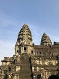 Antyczne świątynie, Ankor Wat Obraz Stock