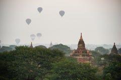 Antyczne świątynie w Bagan, Myanmar Obraz Stock