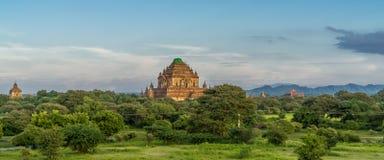 Antyczne świątynie w Myanmar zdjęcie royalty free