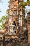 Antyczne antykwarskie Buddha statuy Obrazy Stock