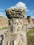 Antyczne antykwarskie miasteczko ruiny Obrazy Stock