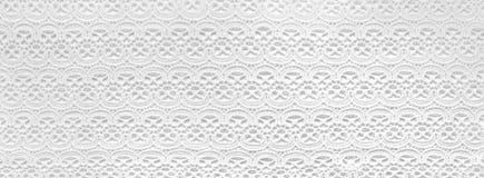 Antyczne białe koronki handwork Zdjęcia Royalty Free