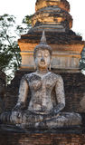 Antyczne Buddha statuy Zdjęcie Stock