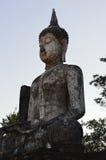 Antyczne Buddha statuy Zdjęcia Royalty Free