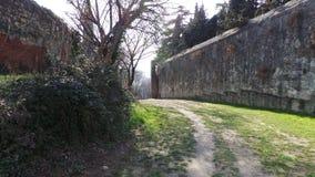 Antyczne ściany Verona Obrazy Stock