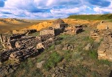 antyczne cmentarniane muzułmańskie ruiny Zdjęcie Stock