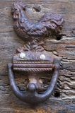 antyczne doorknocker Zdjęcia Royalty Free